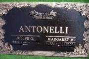 "44"" x 14"" bronze marker - Memorial Park Cemetery"