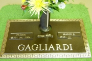 Gagliardi grave marker - Peabody, Massachusetts