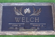 "28"" x 16"" Puritan Lawn Memorial Park marker"