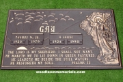 Gay plot - Woodlawn Cemetery