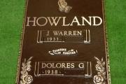 "16"" x 24"" grave marker"