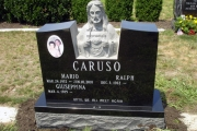Sculpted Jesus Catholic design - Holy Cross Cemetery Malden