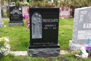 Single grave - Holy Cross Cemetery, Malden MA