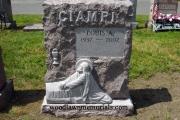 Christ in the gargen sculpted - Holy Cross Cemetery, Malden Massachusetts