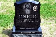 gravestone erected in Tewksbury Massachusetts