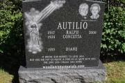 companion grave with double portrait