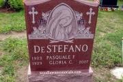 single grave headstone - Wyoming Cemetery Melrose