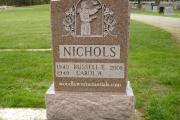 Nicholsn grave - St. Patrick's Cemetery Stoneham Ma