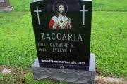 Our Catholic Headstone design - St., Patrick's Cemetery Stoneham MA