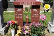 St. Rosalia erected in Holy Cross Cemetery