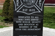 Firefighters Monument, Lynn MA