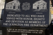 Lexington Firefighters Monument, Lexington, MA