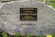 Lynn Veterans Village Bronze Plaque