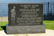 Clarence Del Mar Monument - Boston Marathon Winner