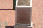 dedication plaque - Cambridge MA