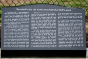 Churchill memorial - Melrose, MA
