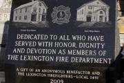 Lexington Firefighters Monument, Lexington, MA