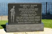 Clarence Del Mar Monument - Boston Marathon Winner