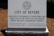 Iraq War monument - Revere, MA