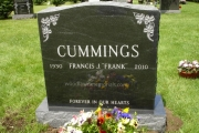 our headstones - Wood End Cemetery, Reading, MA