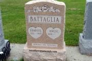 salisbury pink granite headstone