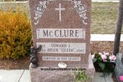 North American Pink headstone