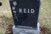single headstone - Wildwood Cemetery, Winchester, MA