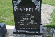 Verdi headstone - Winthrop MA