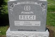 double grave classic headstone