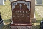 redwood granite gravestone