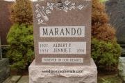 single size headstone - St. Joseph's Cemetery West Roxbury Massachusetts