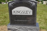 Kingsley upright - Riverside Cemetery, Saugus, MA