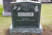 Butler headstone - Forest Glade Cemetery - Wakefield Massachusetts