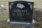 Riverside Cemetery headstone design