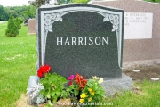 Harrison erected in Wood End Cemetery, Reading Massachusetts