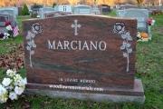 Oak Grove Cemetery headstone - Medford Ma