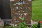 multicolor headstone