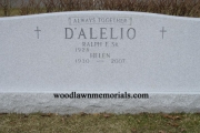 large family headstone