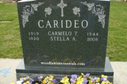 carideo grave lot - Winthrop Cemetery, MA