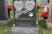 manganello grave - Holy Cross Cemetery, MA