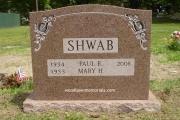 rose color headstone, Pine Haven Cemetery, Burlington, MA