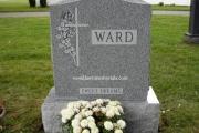 Ward headstone - Danvers Massachusetts