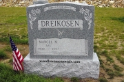 Fox Hill Cemetery Billerica headstone design