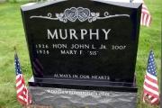 black upright - murphy lot - Bell' Isle Cemetery, Winthrop MA