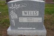 Oak Grove Cemetery Medford double headstone design