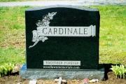 Rock of Ages black headstone - Oak Grove Cemetery, Peabody, MA