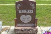 erected in Fairview Cemetery, Hyde Park