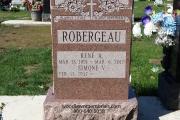 Single lot headstone erected in Oak Lawn Cemetery, Boston, MA
