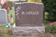 basic headstone design - Pine Grove Cemetery