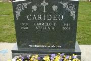 carideo grave lot - Winthrop Cemetery, MA